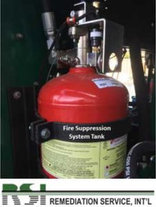 Fire Suppression System Tank