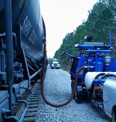 RSI Railroad Degassing Remediation System